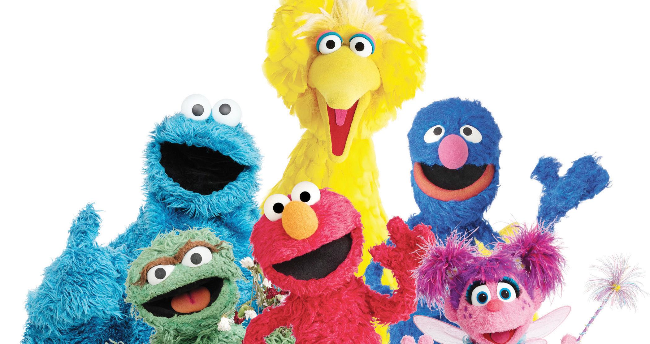 Elmo y sus amigos  cumplen 50 años