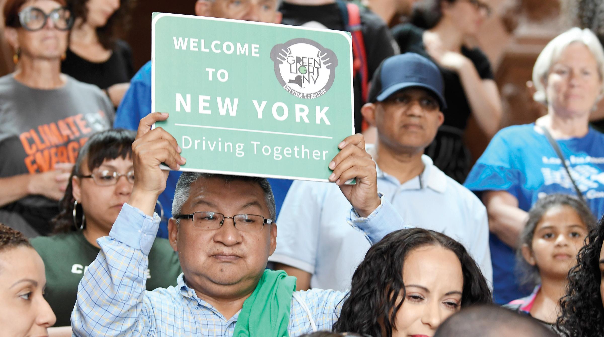 Licencia de conducir para todos en NY
