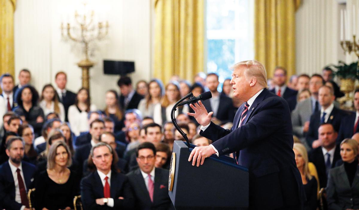 Senado declara inocente a Trump