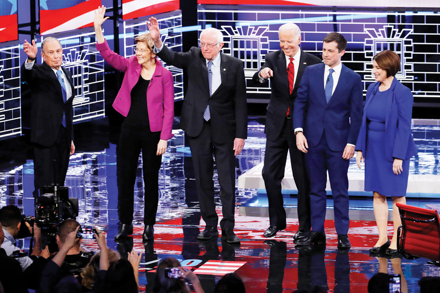 "Bloomberg: ""Este debate demócrata lo ganó Trump"""