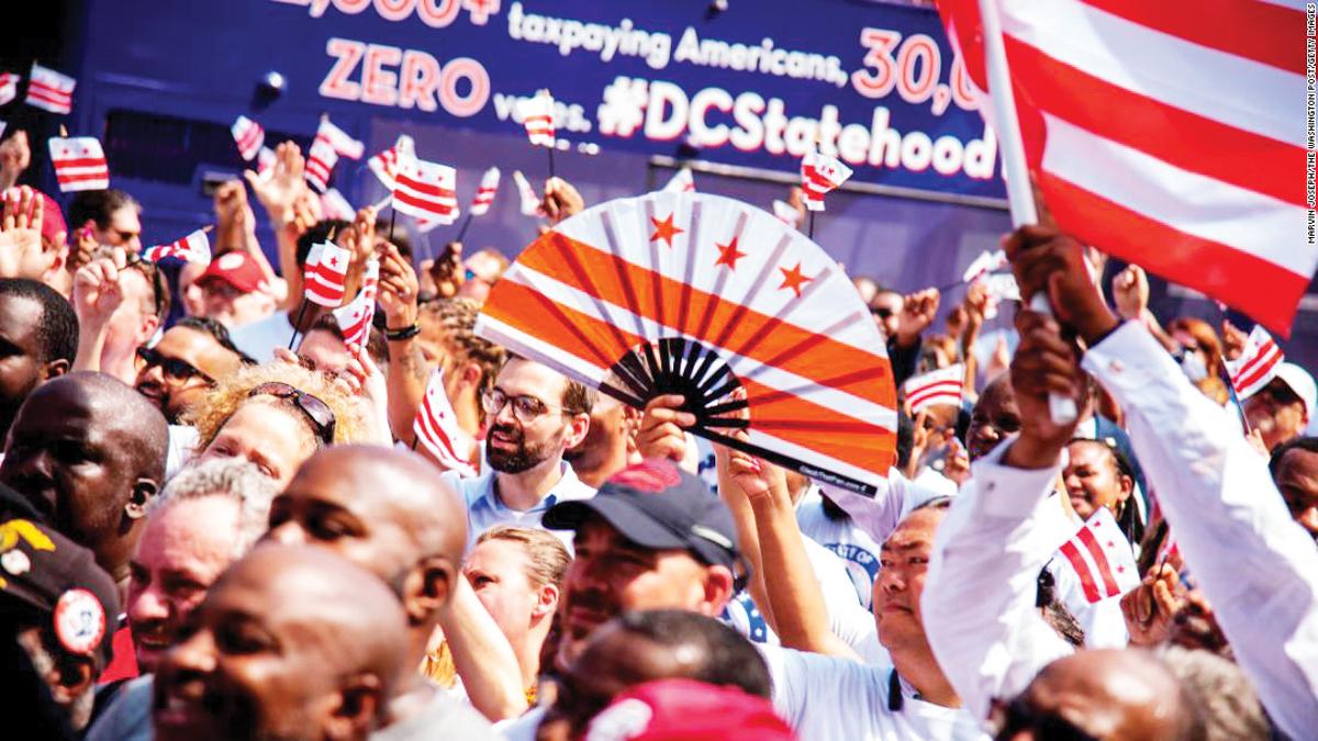 Washington DC, un gran paso hacia el Estado 51