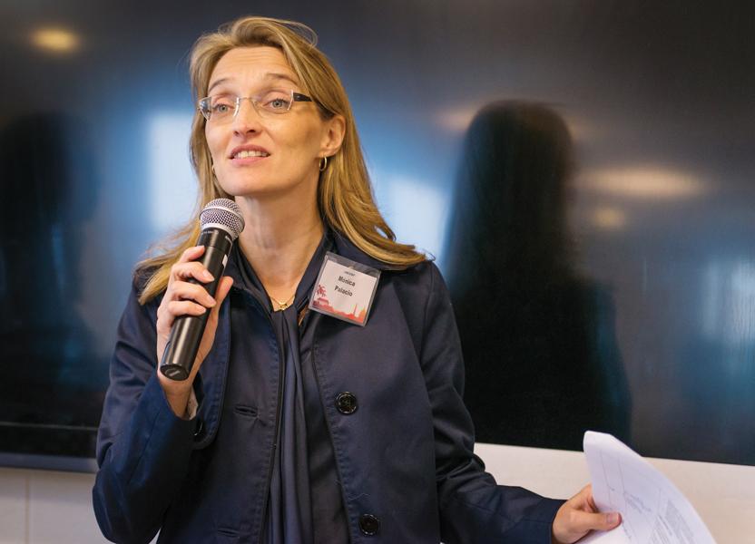 Mónica Palacio se postula para el Consejo de DC