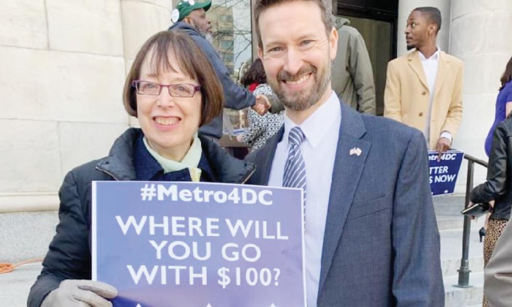 Proponen Metro gratis para residentes de DC