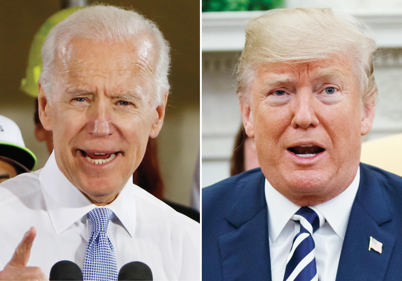 Biden versus Trump en noviembre