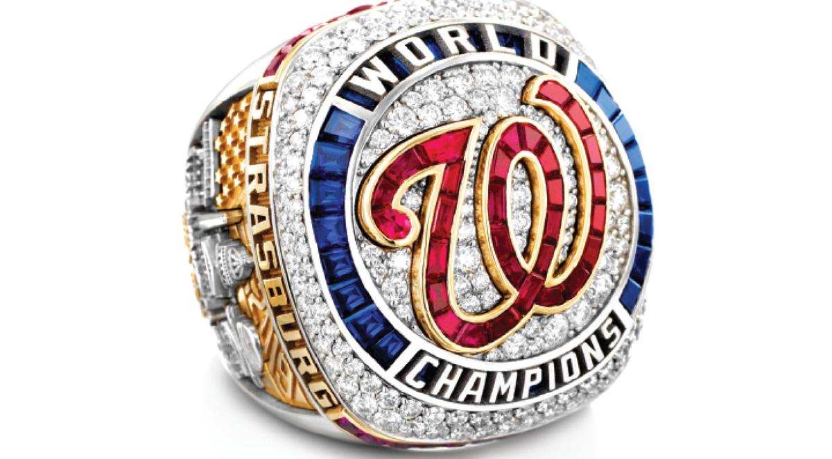 Washington presenta anillo de campeones