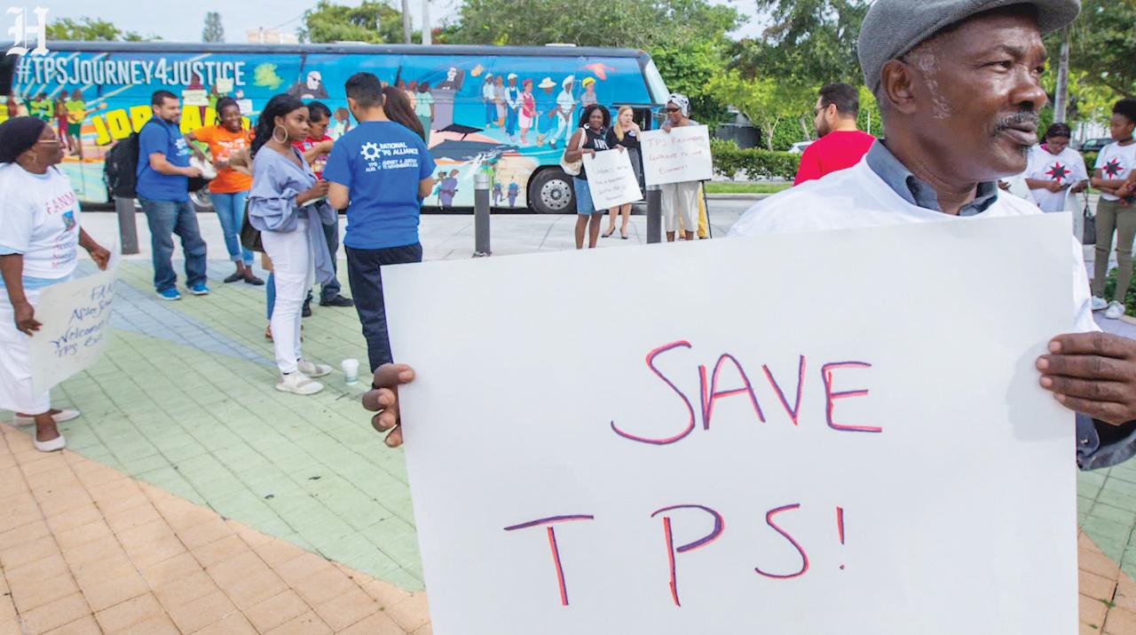 En caravana piden TPS con residencia permanente en DC