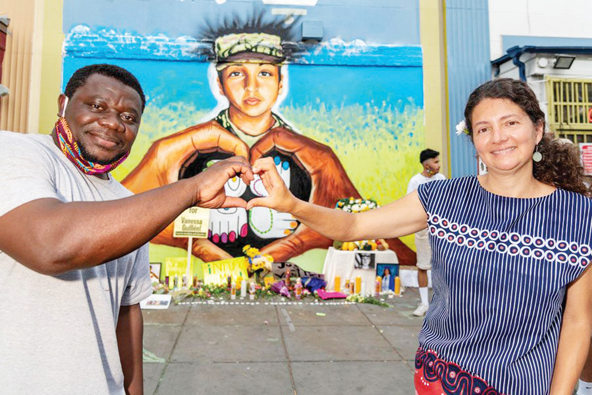 Crean mural para conmemorar a Vanessa Guillén