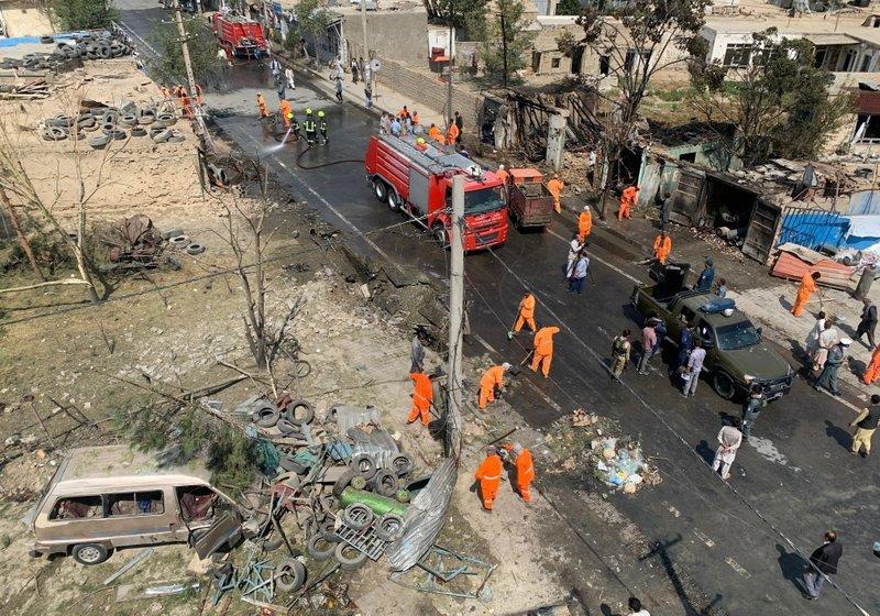 10 muertos en ataque a Vicepresidente Afgano