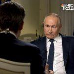 Putin comparó la represión rusa con la detención de alborotadores del Capitolio