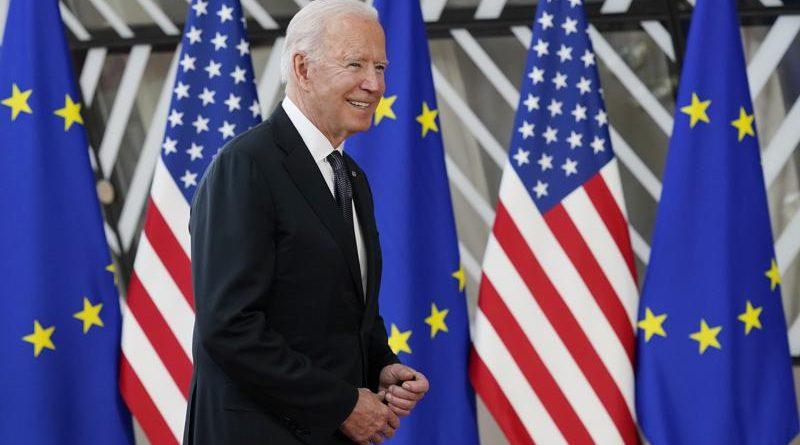 Biden llega a Ginebra para reunión con Putin