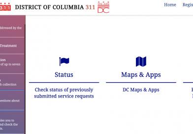 Cómo solicitar información o ayuda con servicios en Washington DC